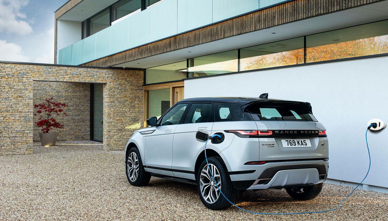 2021 range rover evoque รุ่นปลั๊กอิน ไฮบริด มาตามคิว
